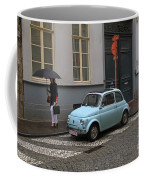 Woman With Umbrella Coffee Mug
