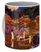 Women And White Horse 1903 Coffee Mug