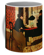 Women By Lamplight Coffee Mug