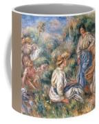 Women In A Landscape Coffee Mug
