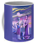 Women Pounding Cassava Coffee Mug
