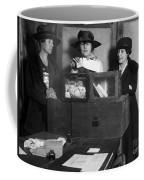Women Voting, C1917 Coffee Mug