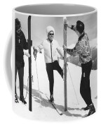 Women Waxing Skis Coffee Mug