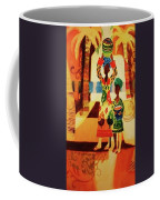 Women With Baskets Coffee Mug