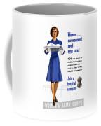 Women's Army Corps - Ww2 Coffee Mug