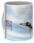 Womens Pole Vault Coffee Mug