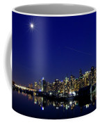 Wonderful Autumn Night In Port Vancouver Coffee Mug