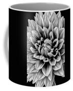 Wonderful Graphic Dahlia Coffee Mug