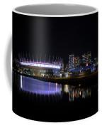 Wonderful Night Of False Creek View With Bc Place. Coffee Mug