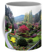 Wonderful Sunken Garden In The Butchart Gardens,victoria,canada 1. Coffee Mug