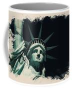 Wonders Of The Worlds - Lady Liberty Of New York 2 Coffee Mug
