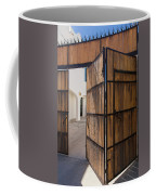 Wood And Iron Bi-fold Gate Coffee Mug