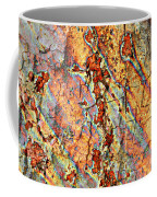 Wood And Rust Coffee Mug by Carol Groenen