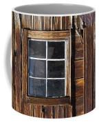 Wood And Window Coffee Mug