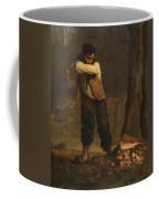 Wood Chopper Coffee Mug