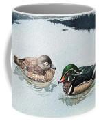 Wood Ducks Coffee Mug