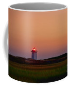 Wood End Lighthouse Sunset Coffee Mug