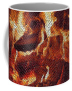 Wood Fire Mosaic Coffee Mug