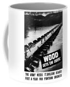 Wood Gets 'em Over Coffee Mug