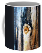 Wood In Macro #1 Coffee Mug