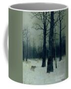 Wood In Winter Coffee Mug by Isaak Ilyic Levitan