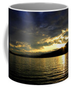 Wood Lake Sunburst Coffee Mug