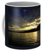 Wood Lake Sunburst Coffee Mug