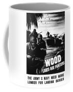 Wood Lands Our Fighters Coffee Mug