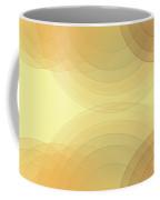 Wood Semi Circle Background Horizontal Coffee Mug