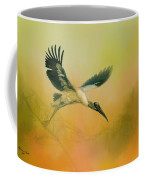 Wood Stork Encounter Coffee Mug