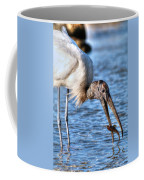 Wood Storks Breakfast Lunch And Dinner Coffee Mug