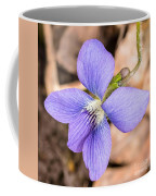 Wood Violet - Full View Coffee Mug