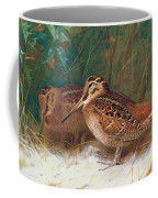 Woodcock In The Undergrowth Coffee Mug