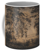 Wooded Landscape With Rainbow Coffee Mug