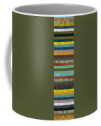 Wooden Abstract X  Coffee Mug