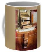 Wooden Bank Cash Register Coffee Mug