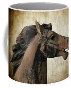 Wooden Carousel Horse Coffee Mug