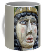 Wooden Carving In Santa Fe 8 Coffee Mug