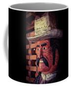 Wooden Cowboy Coffee Mug