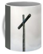 Wooden Cross Coffee Mug