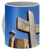 Wooden Cross And Penitente Church Coffee Mug