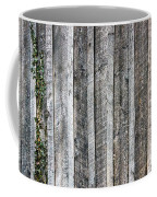 Wooden Fence And Ivy Coffee Mug