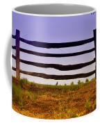 Wooden Fence Coffee Mug