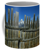 Wooden Fence, Grand Tetons Coffee Mug