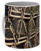 Wooden Lobster Traps Coffee Mug