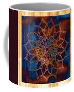 Wooden Mandala Coffee Mug by Hakon Soreide