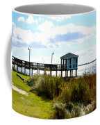 Wooden Pier With Pavilion Coffee Mug