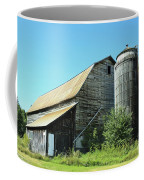 Wooden Silo Coffee Mug