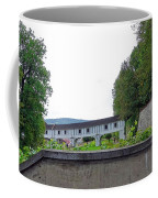 Wooden Walkway As Seen From The Cesky Krumlov Casle Gardens  Coffee Mug