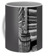 Wooden Water Barrel Coffee Mug